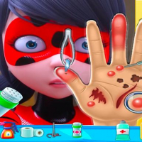ladybug miraculous Hand Doctor - Fun Games for Gir