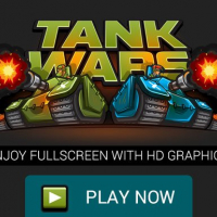 Tank Wars the Battle of Tanks, Fullscreen HD Game