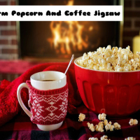 Warm Popcorn And Coffee Jigsaw